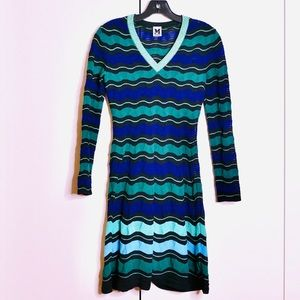 M Missoni Skater Dress Sz 36